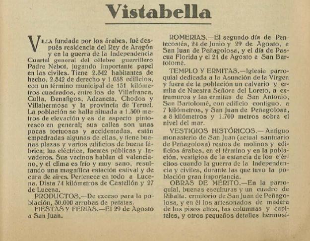Anuario-Guía de la provincia de Castellón. 1925