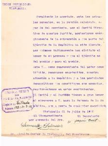 10- Unión republicana- 21-07-1936