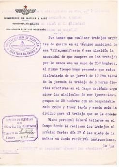 Aviación-Campo de aviación-a- 25-07-1936