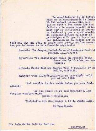 EJÉRCITO, PARADERO DE 4 VECINOS    25-6-37 w
